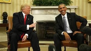 trump et obama